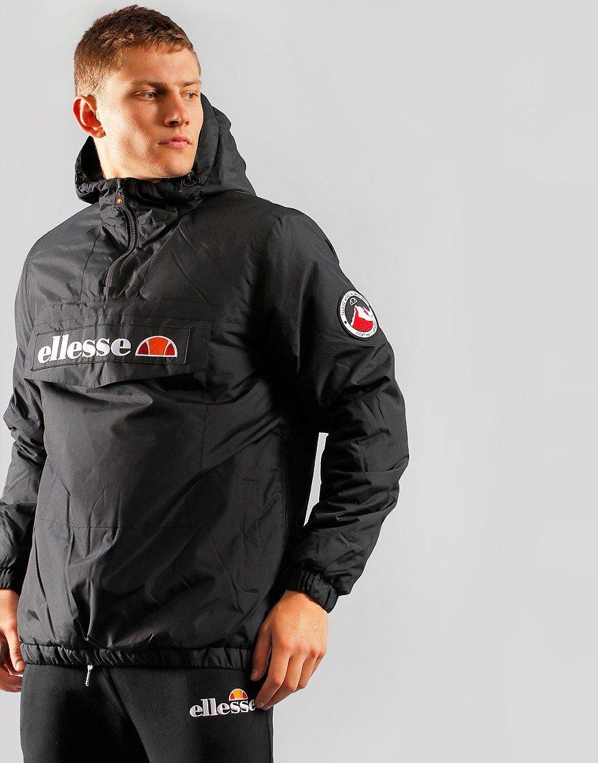 Ellesse Monterini Overhead Jacket Black