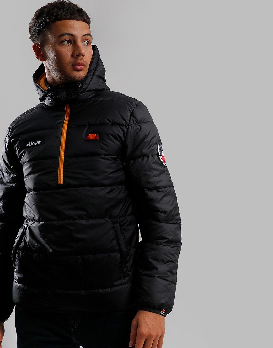 Ellesse Narni Quilted Jacket Black