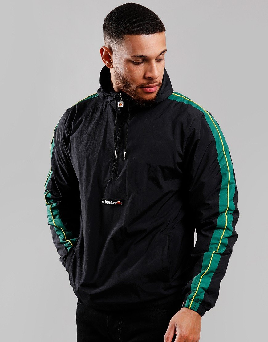 Ellesse Osiris Half Zip Jacket Black