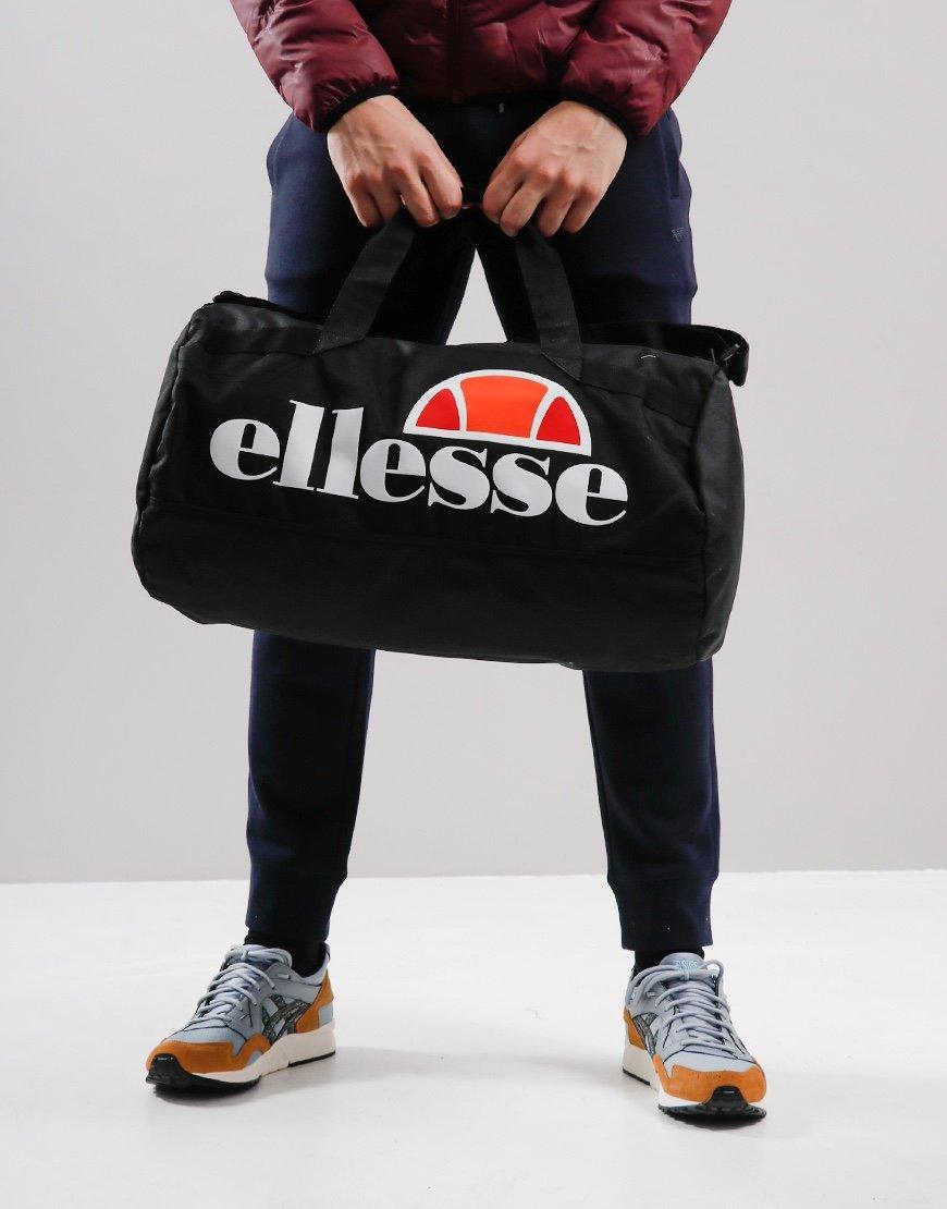 Ellesse Pelba Barrel Bag Black