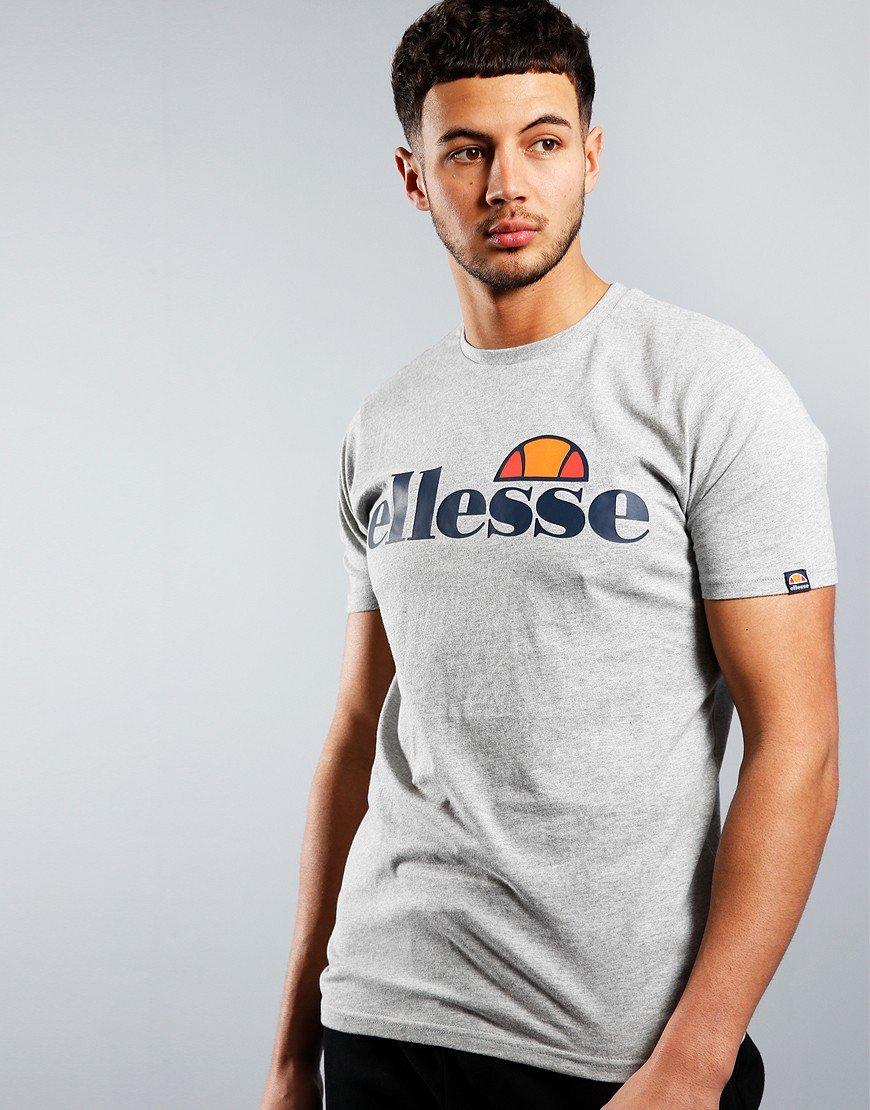 Ellesse Prado T-Shirt Grey Marl