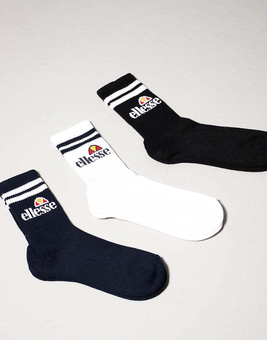 Ellesse Pullo 3 Pack Socks Multi