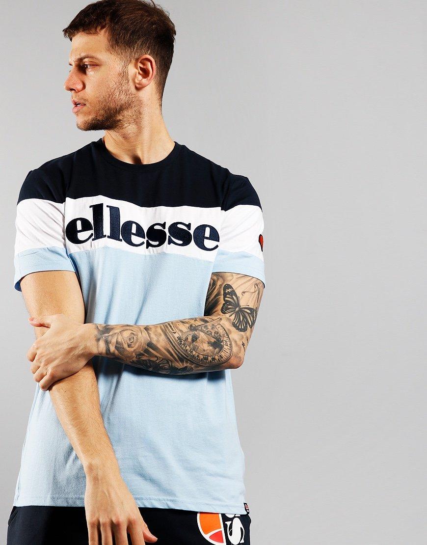 Ellesse Punto T-shirt  Light Blue Navy