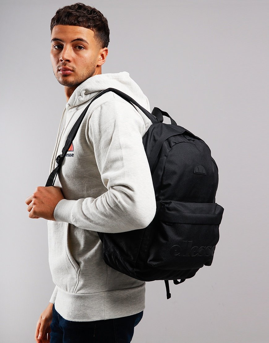 Ellesse Regent Backpack Black Mono