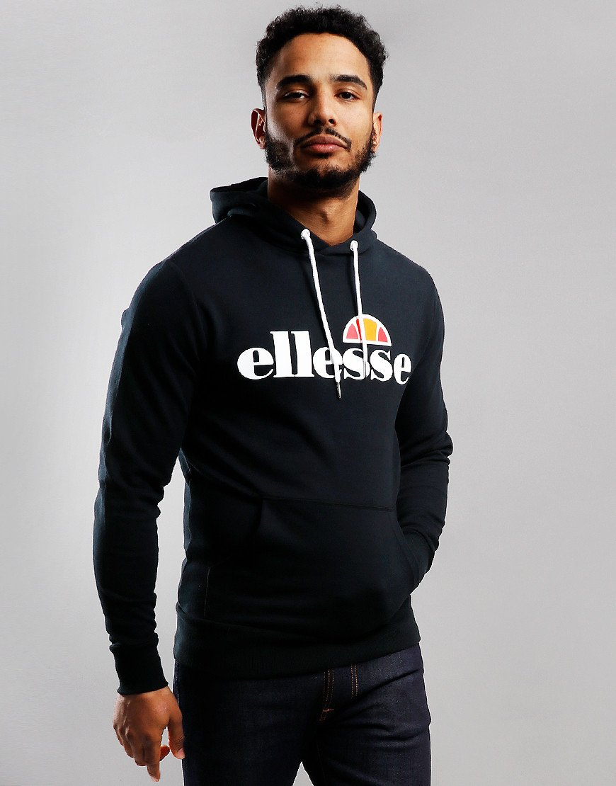Ellesse Runaway Hooded Sweat Black