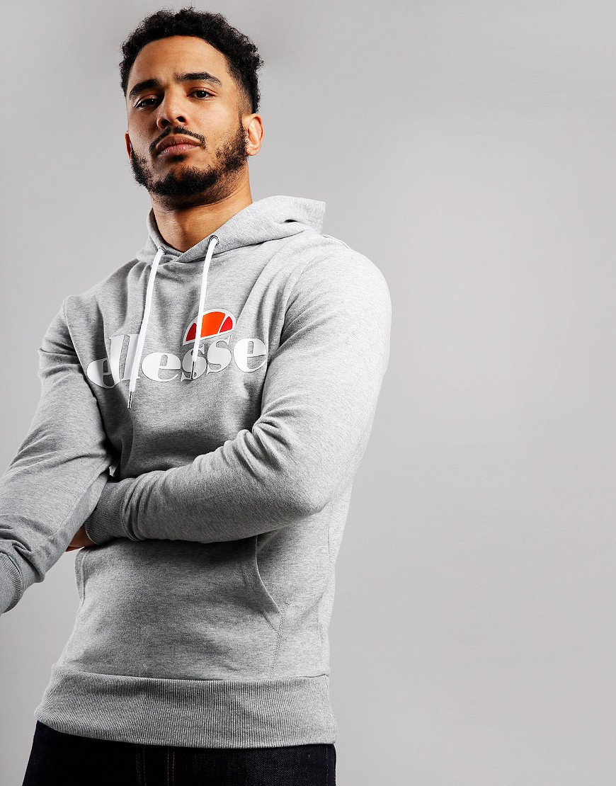 Ellesse Runaway Hooded Sweat Grey Marl