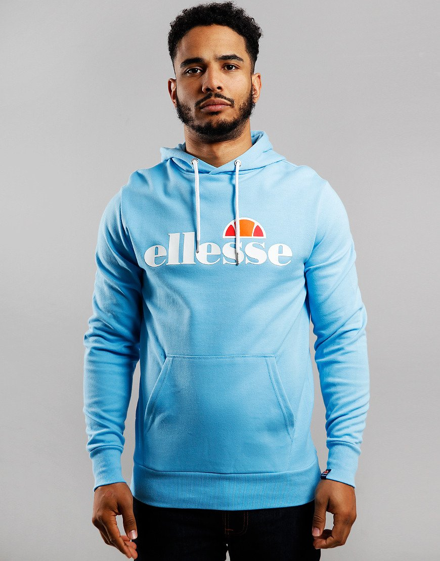 Ellesse Runaway Hooded Sweat Light Blue