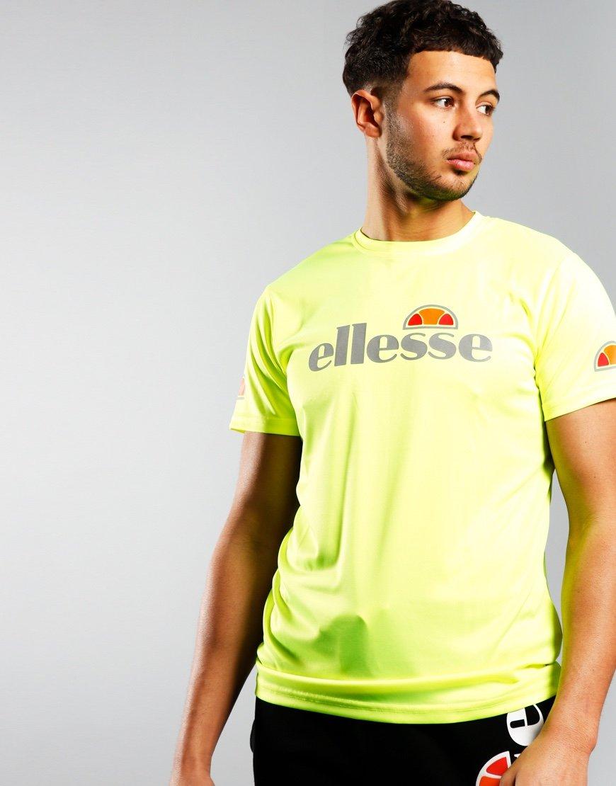 Ellesse Sammeti T-Shirt Neon Yellow