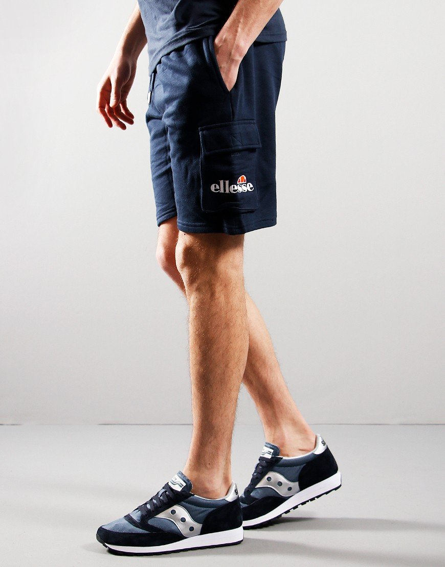 Ellesse Sica Cargo Sweat Shorts Navy