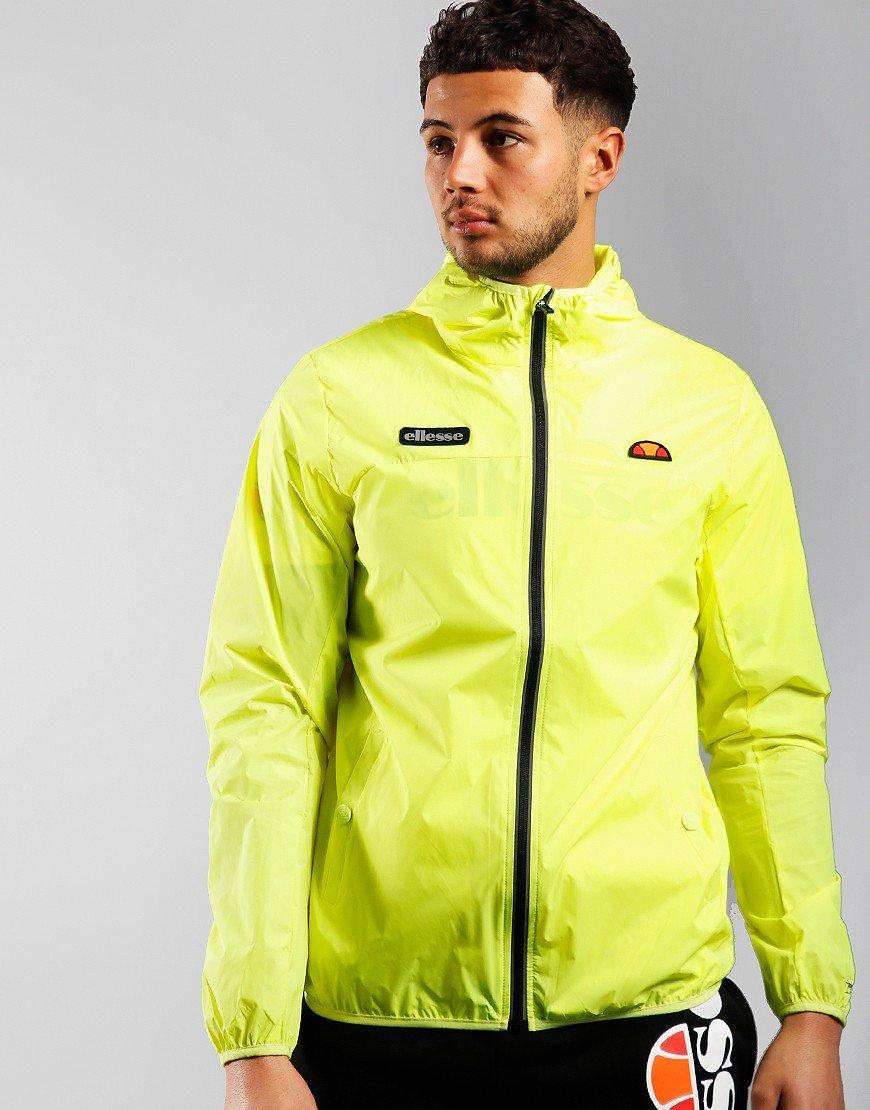 Ellesse Sortoni Jacket Neon Yellow