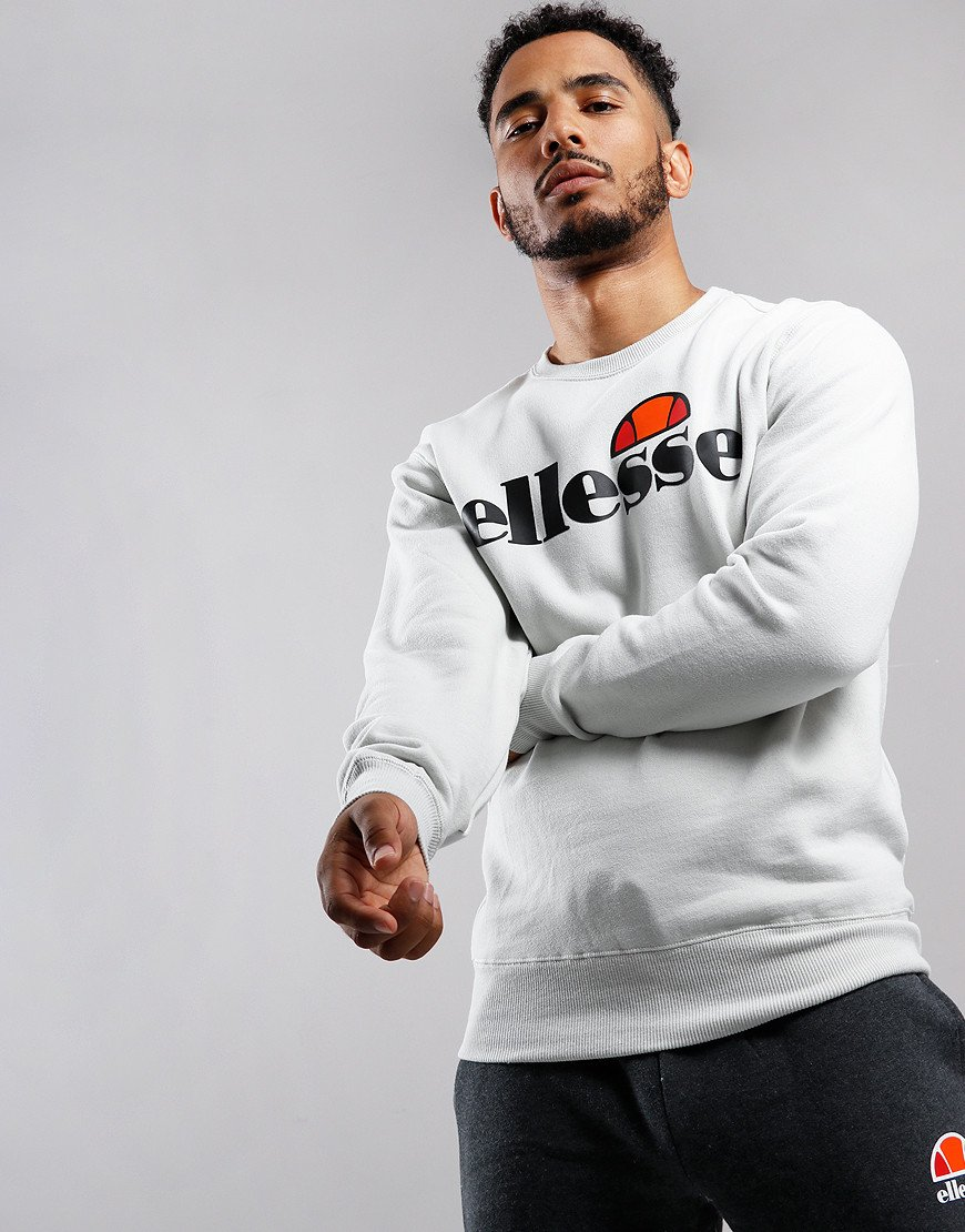Ellesse Succiso Crew Sweat Light Grey