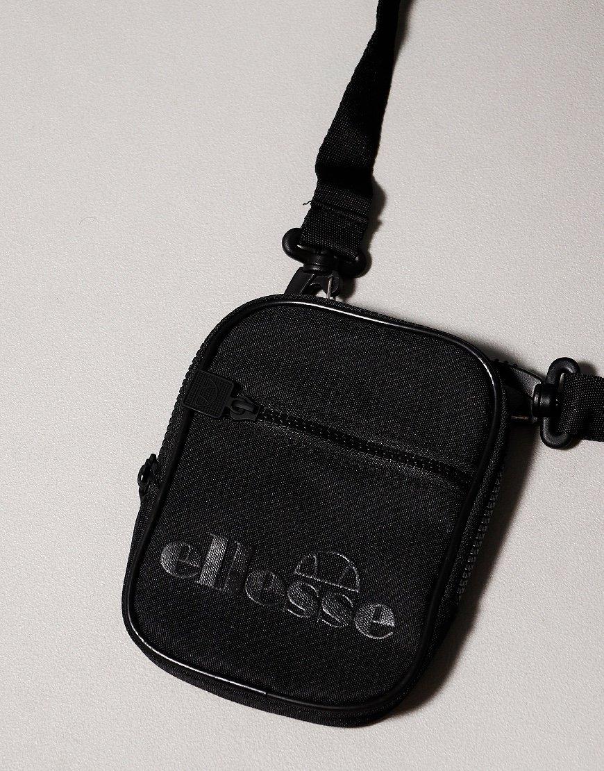 Ellesse Templeton Side Bag Black Mono