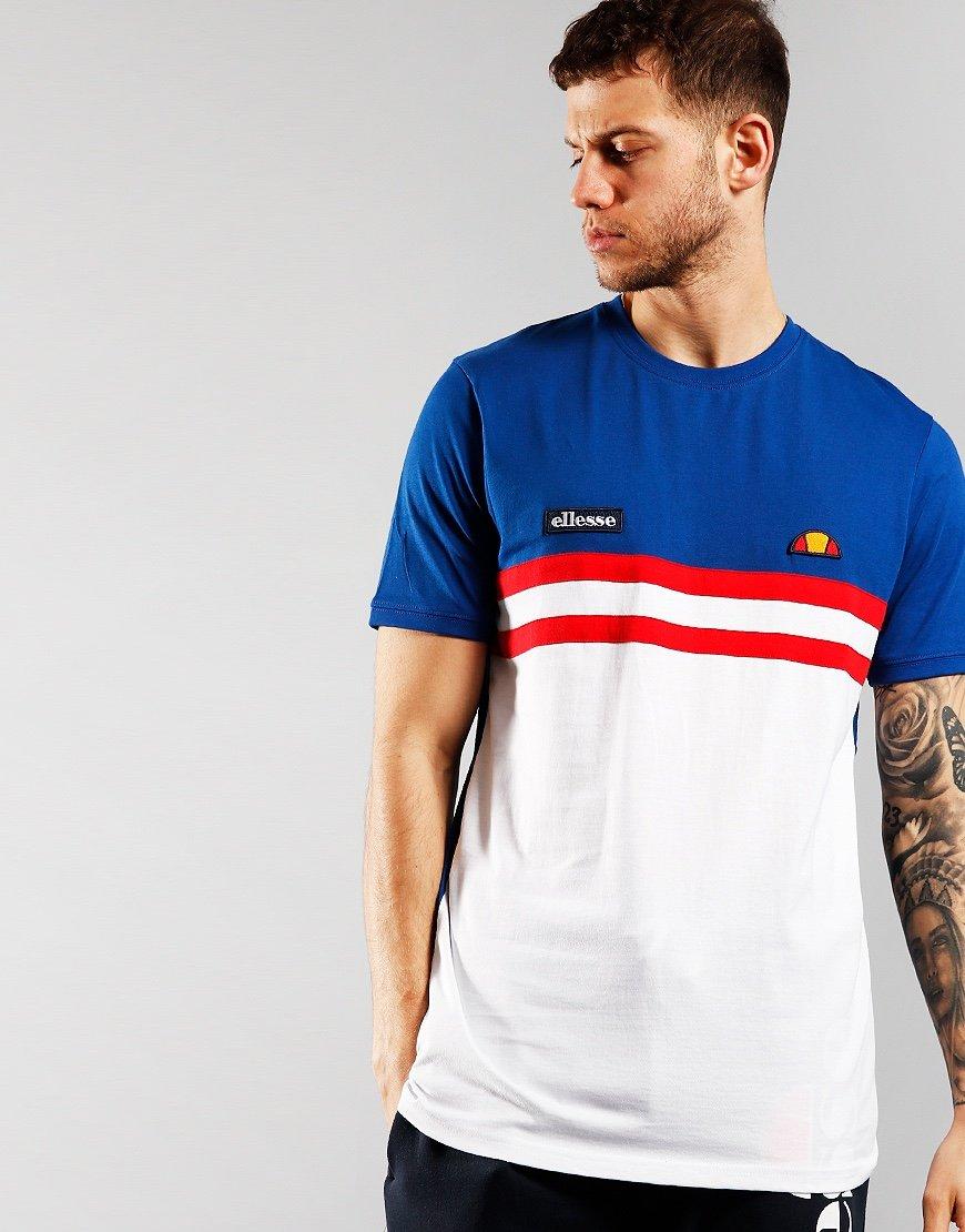Ellesse Venire T-Shirt White Blue White