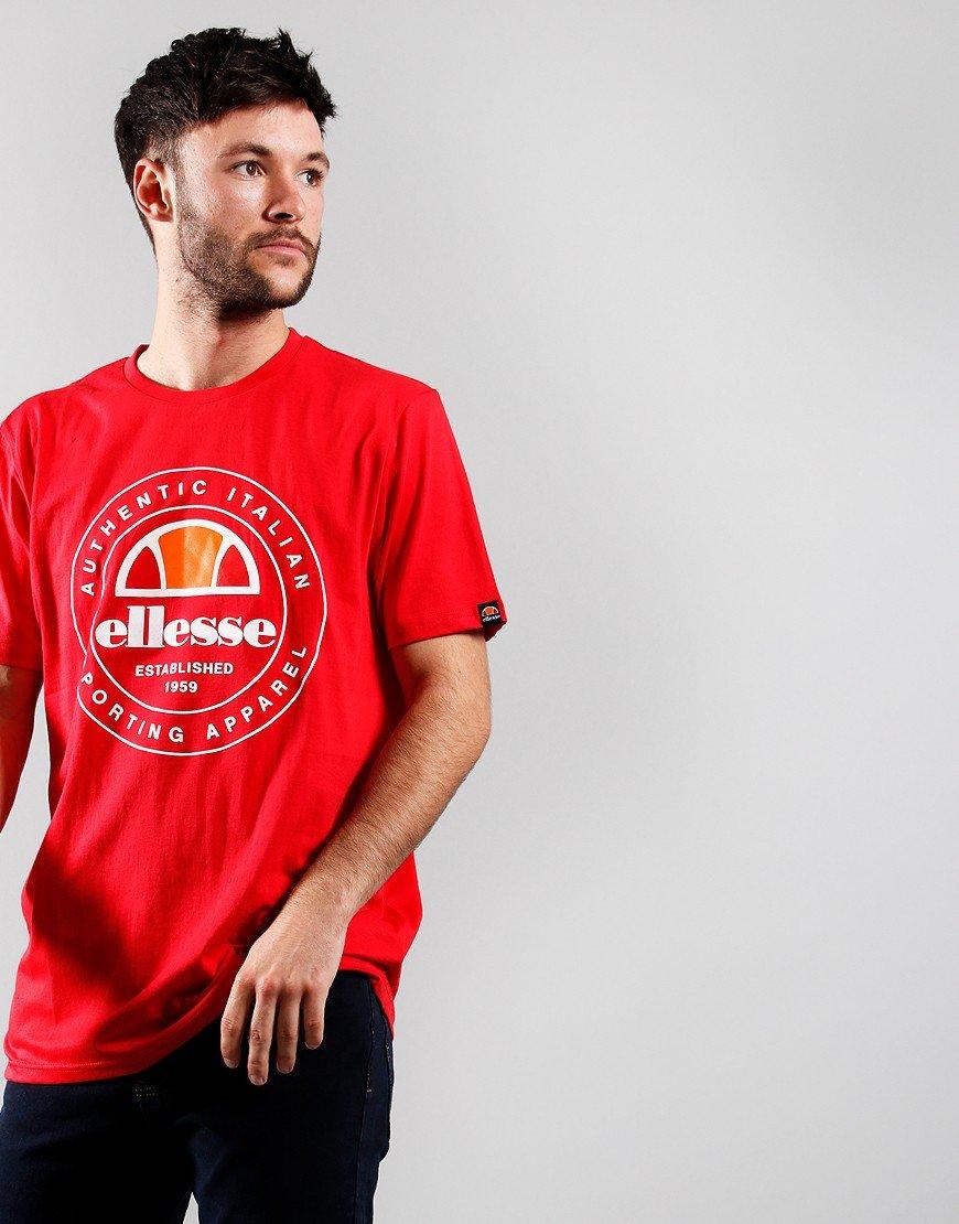Ellesse Vettorio T-Shirt Red