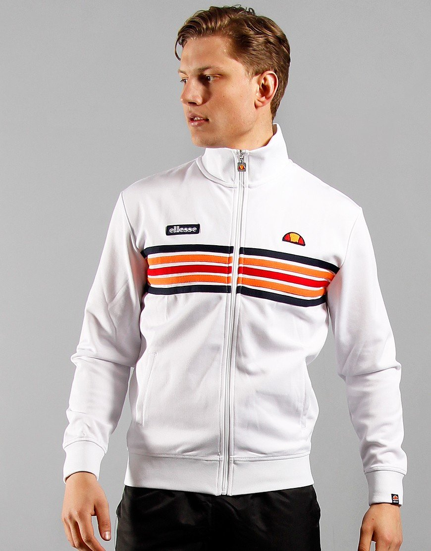 Ellesse Vicenza Track Top White