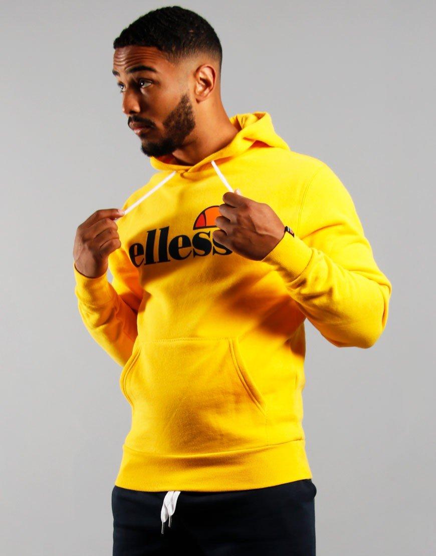 Ellesse Gottero Hooded Sweat Yellow