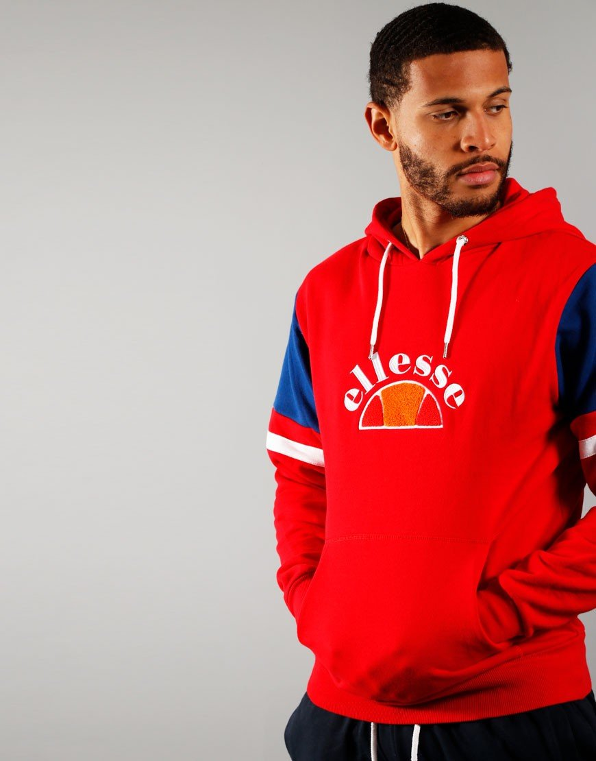 Ellesse Petto OH Sweat Red