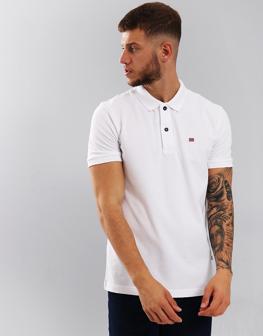 Napapijri Enoos Polo Shirt Bright White