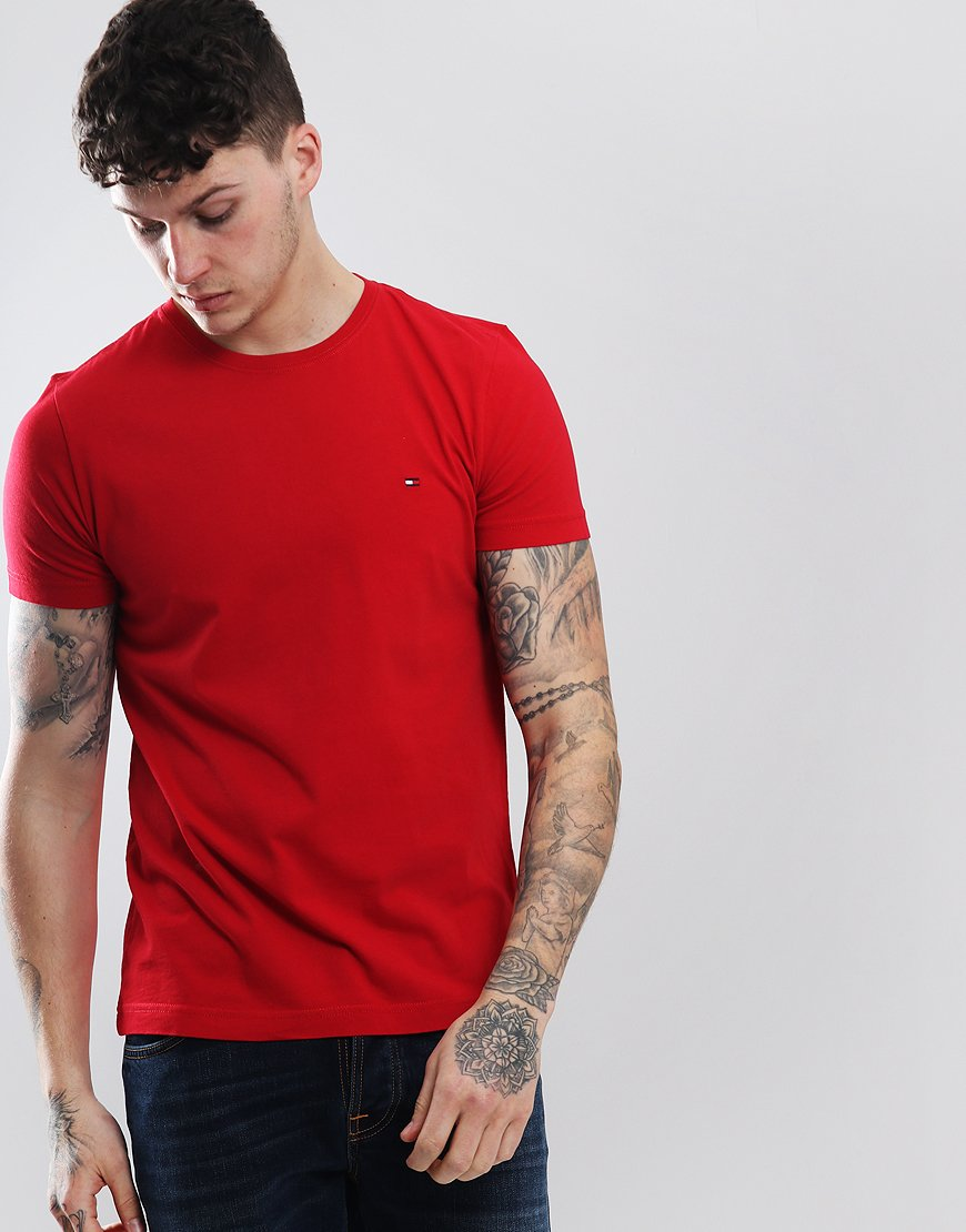 Tommy Hilfiger Essential T-shirt Haute Red