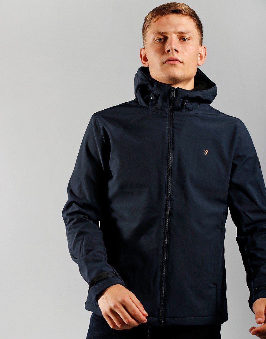 Farah Bective Softshell Jacket True Navy