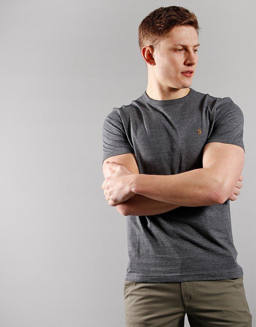 Farah Danny Short Sleeve T-Shirt Farah Grey Marl