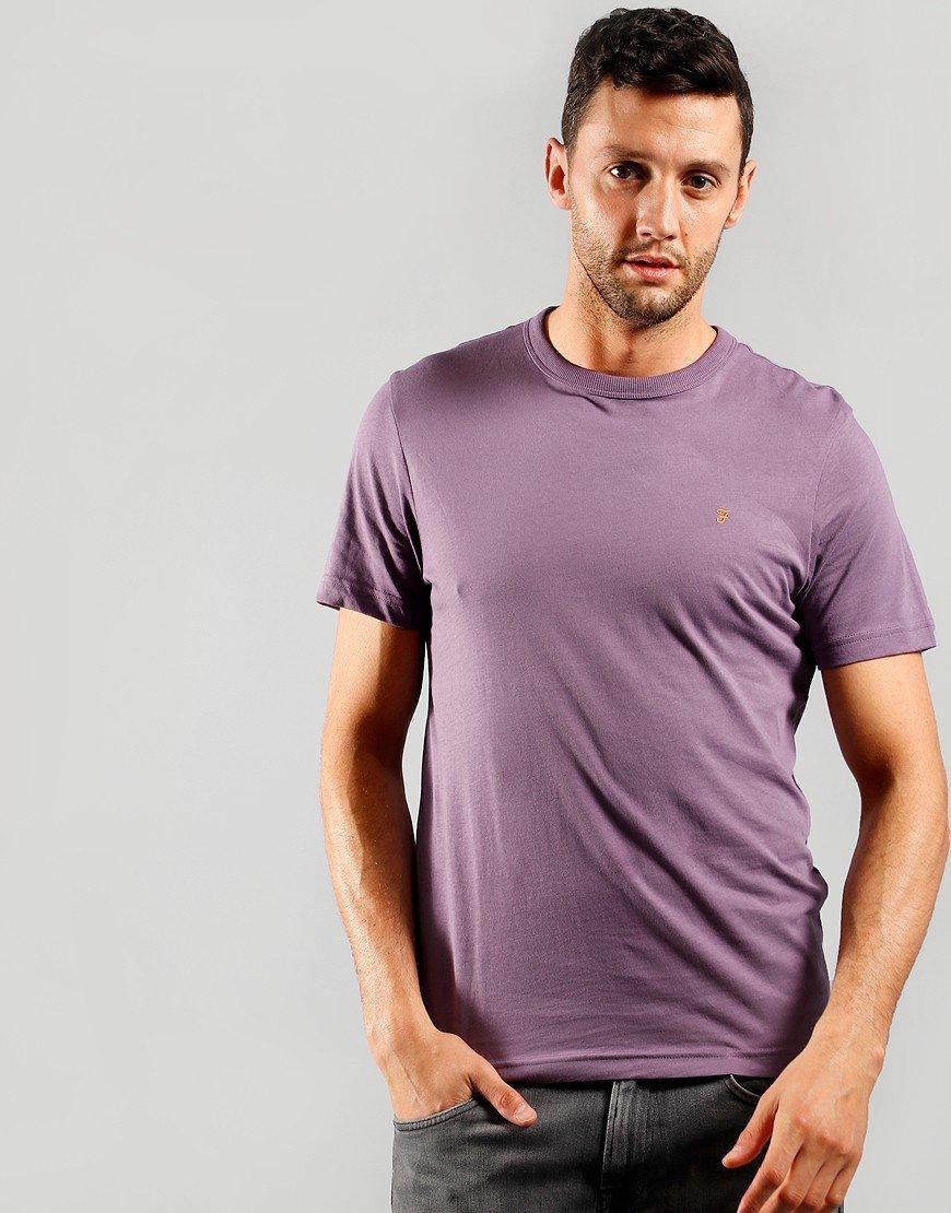 Farah Danny Short Sleeve T-Shirt Rich Lilac
