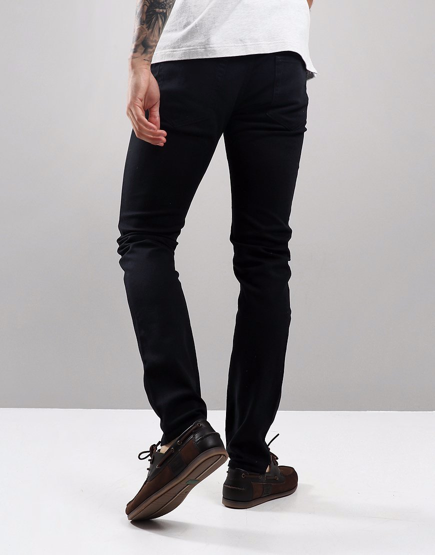 Farah Drake Skinny Stretch Chinos Black