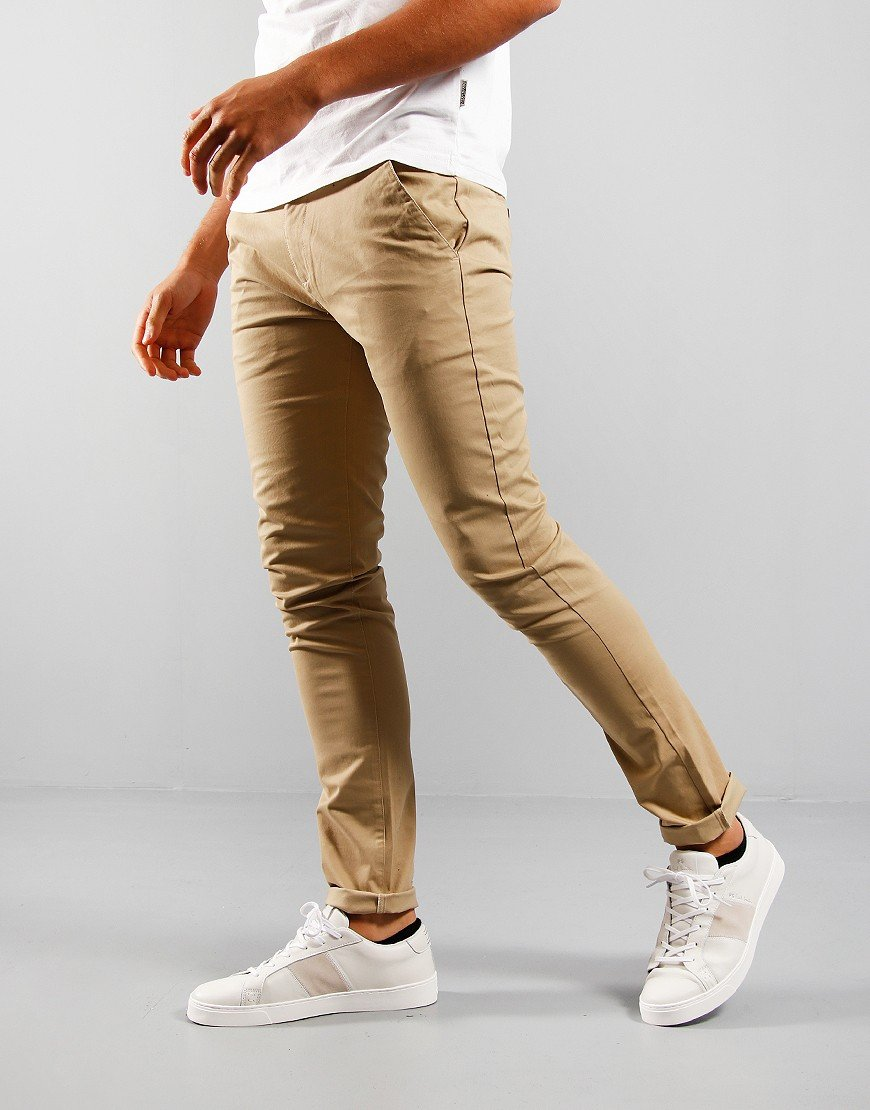 Farah Drake Twill Chino Light Sand