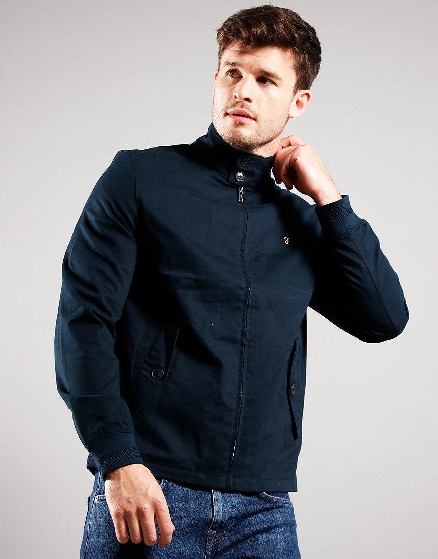 Farah Hardy Harrington Jacket True Navy