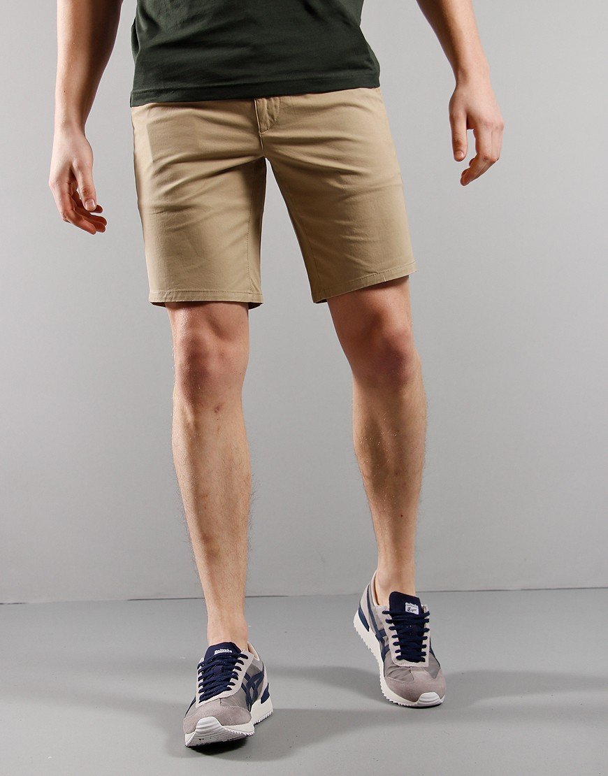 Farah Hawk Chino Shorts Light Sand