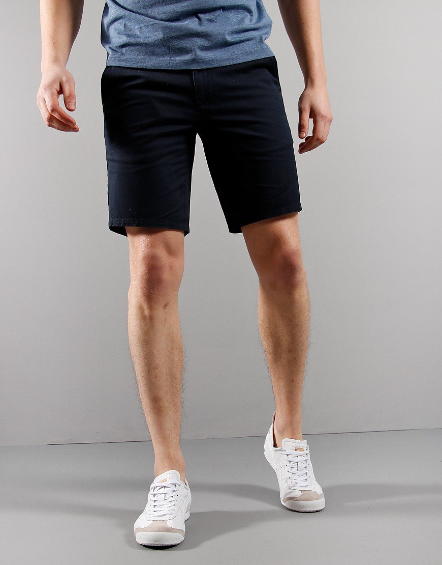 Farah Hawk Chino Shorts True Navy