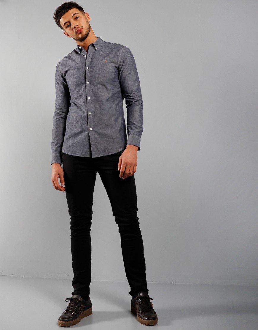 Farah Pasadena Long Sleeve Shirt Chambray