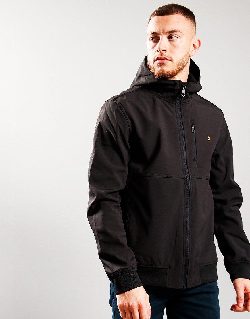 Farah Rudd Jacket Black