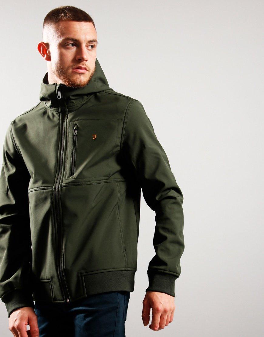 Farah Rudd Jacket Evergreen