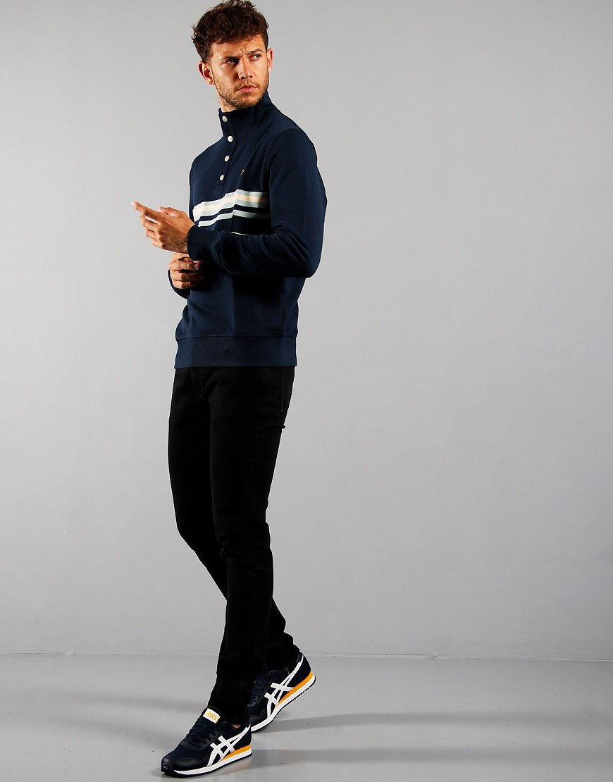 Farah Segundo Sweatshirt Yale Blue