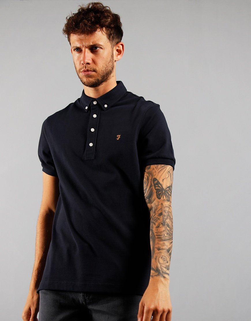 Farah Ricky Polo Shirt True Navy