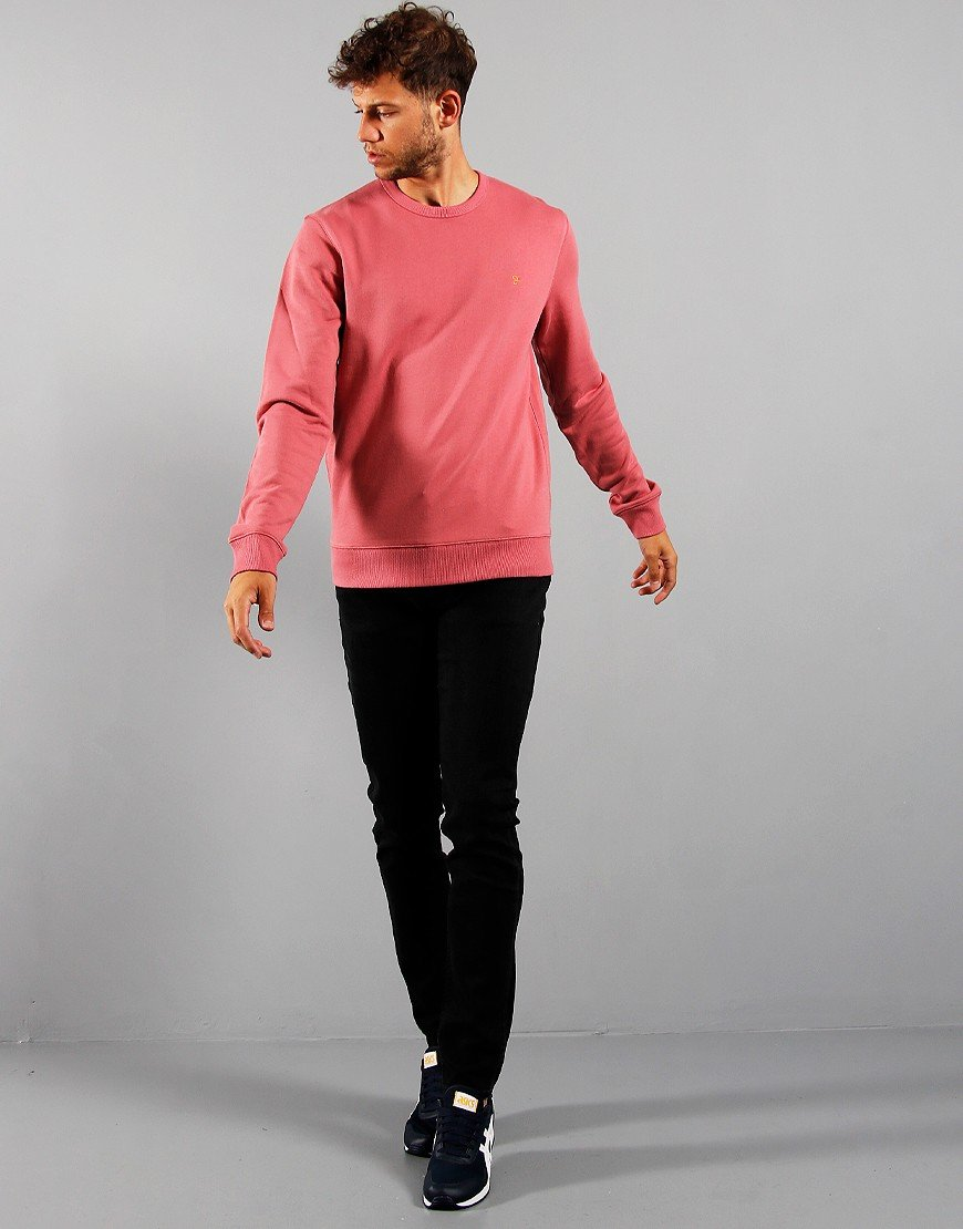 Farah Tim Crew Sweatshirt Dusty Rose