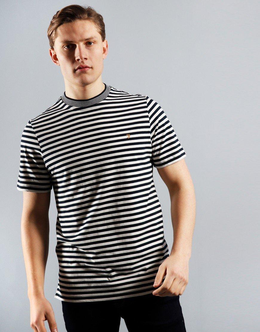 Farah Galveston T-Shirt True Navy