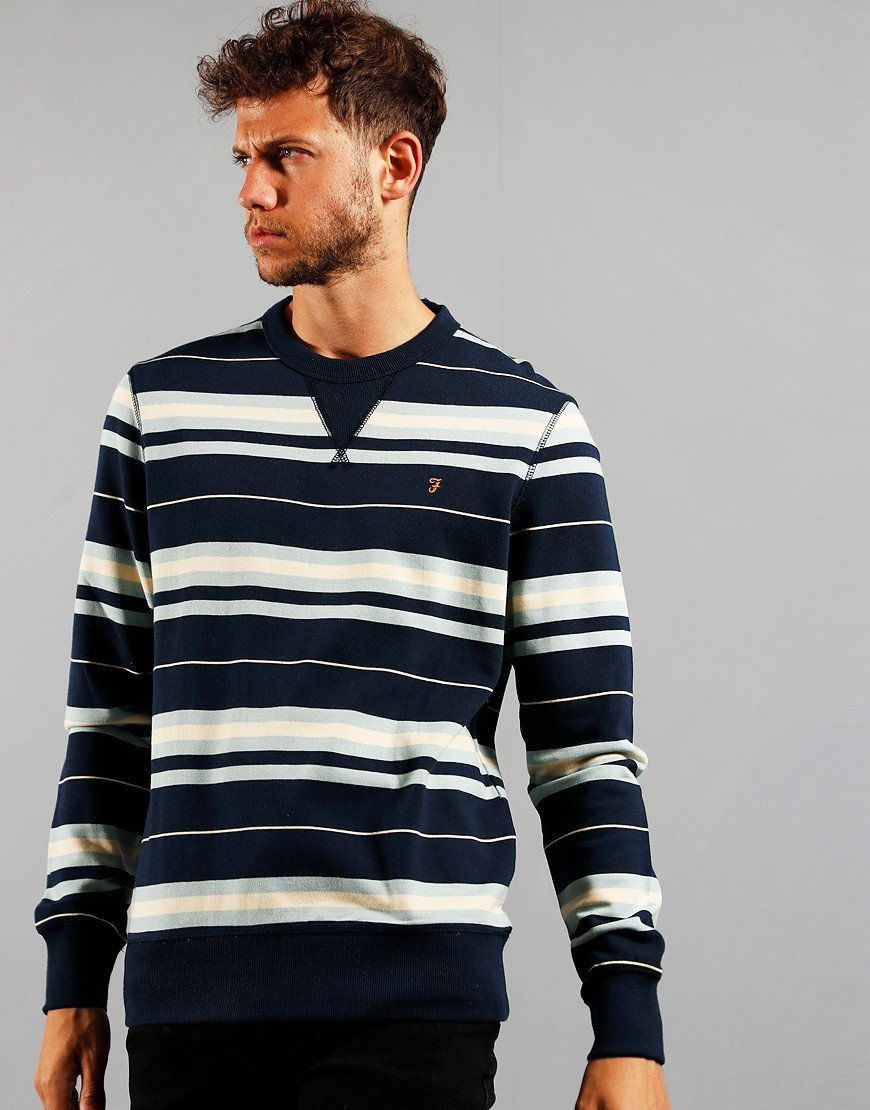 Farah Noble Yale Sweatshirt Blue