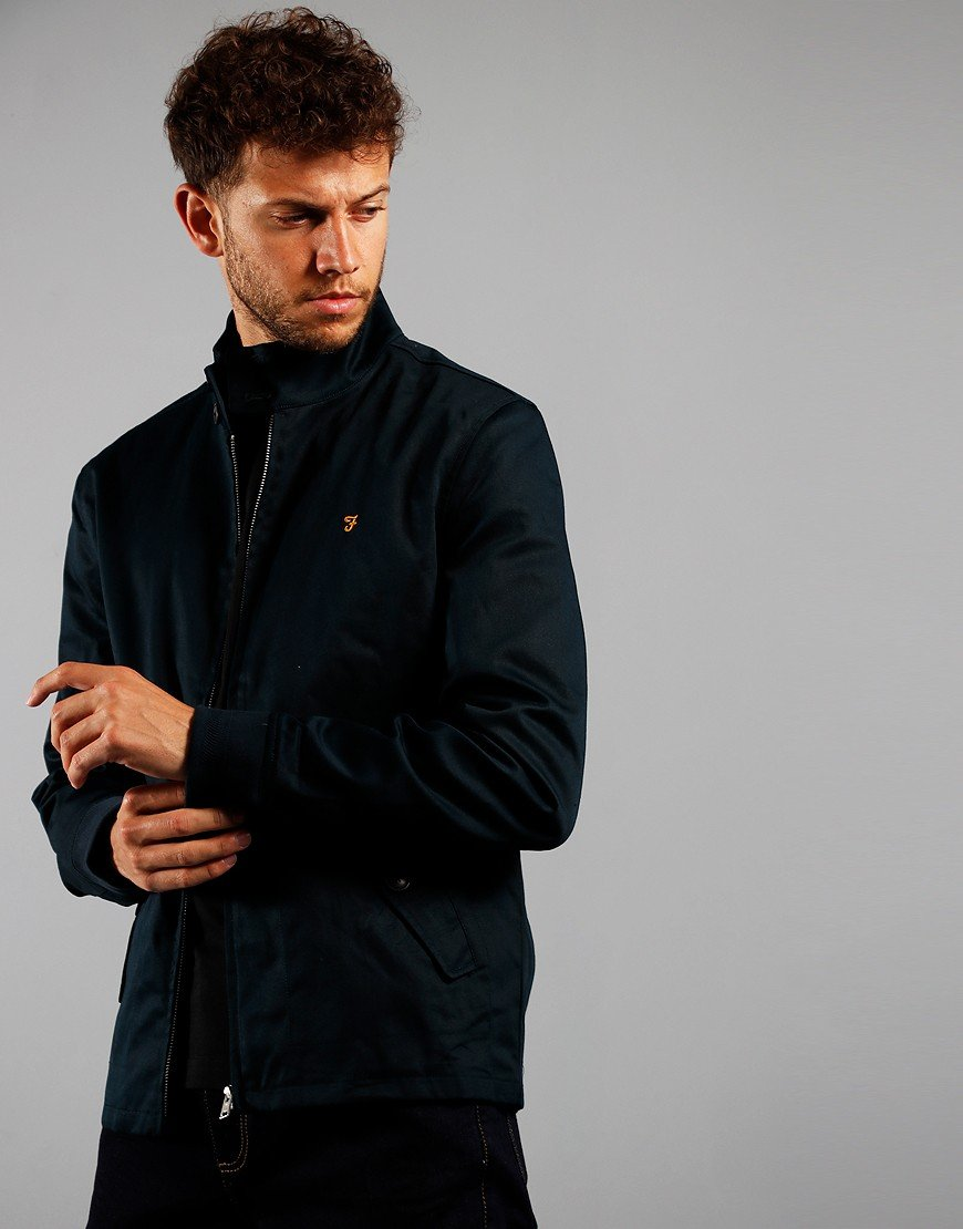 Farah Hardy Harrington Jacket True Navy