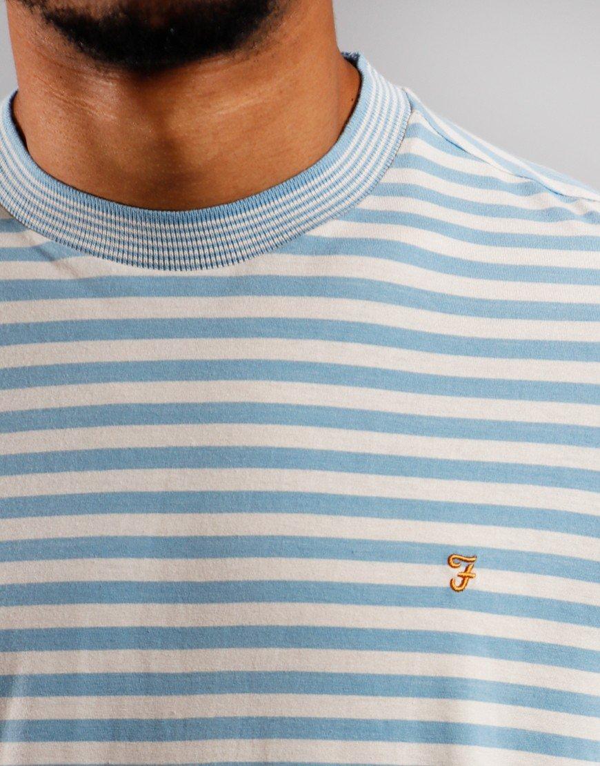 Farah Galveston T-Shirt Moonstone