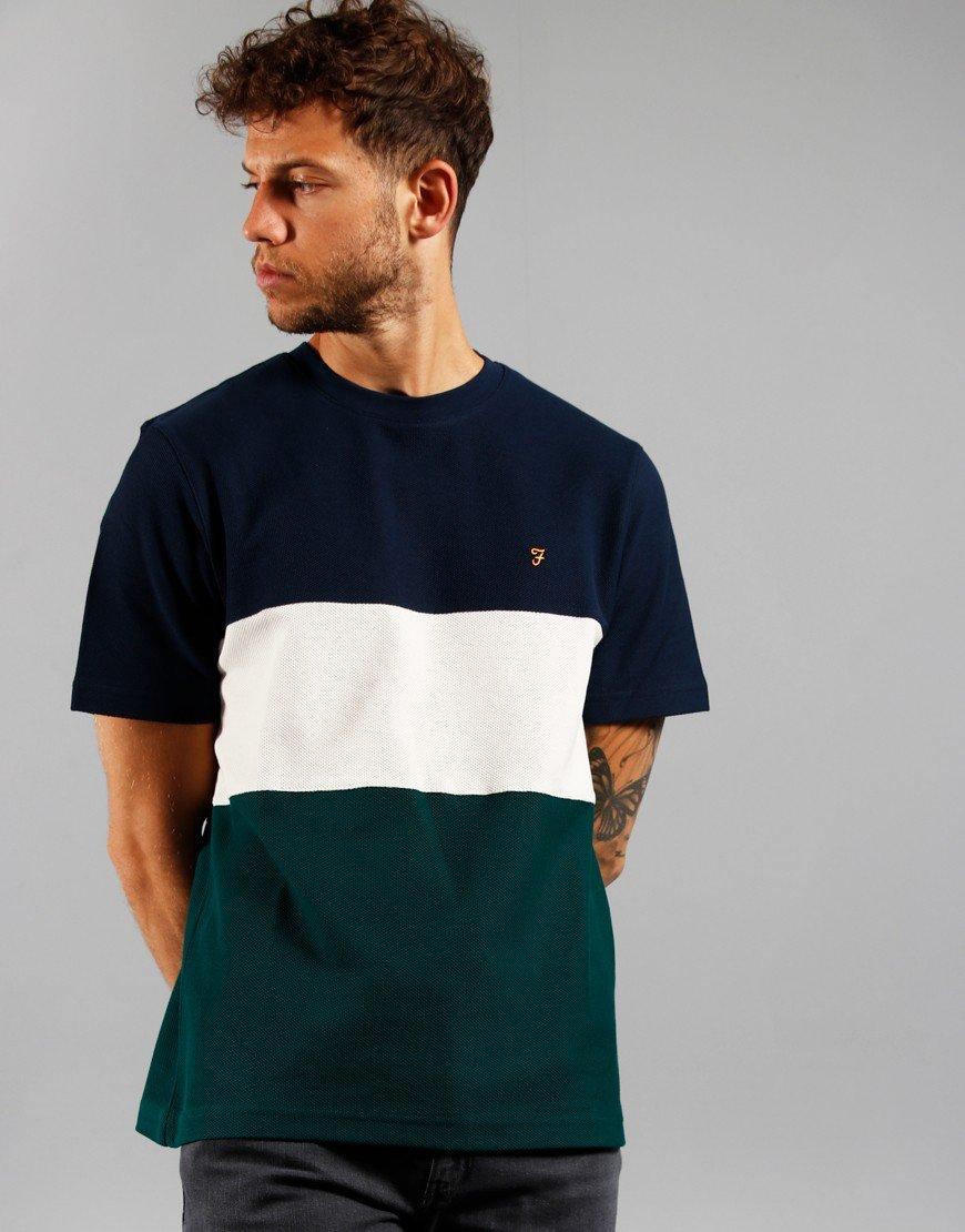Farah Wharton T-Shirt Leaf Green