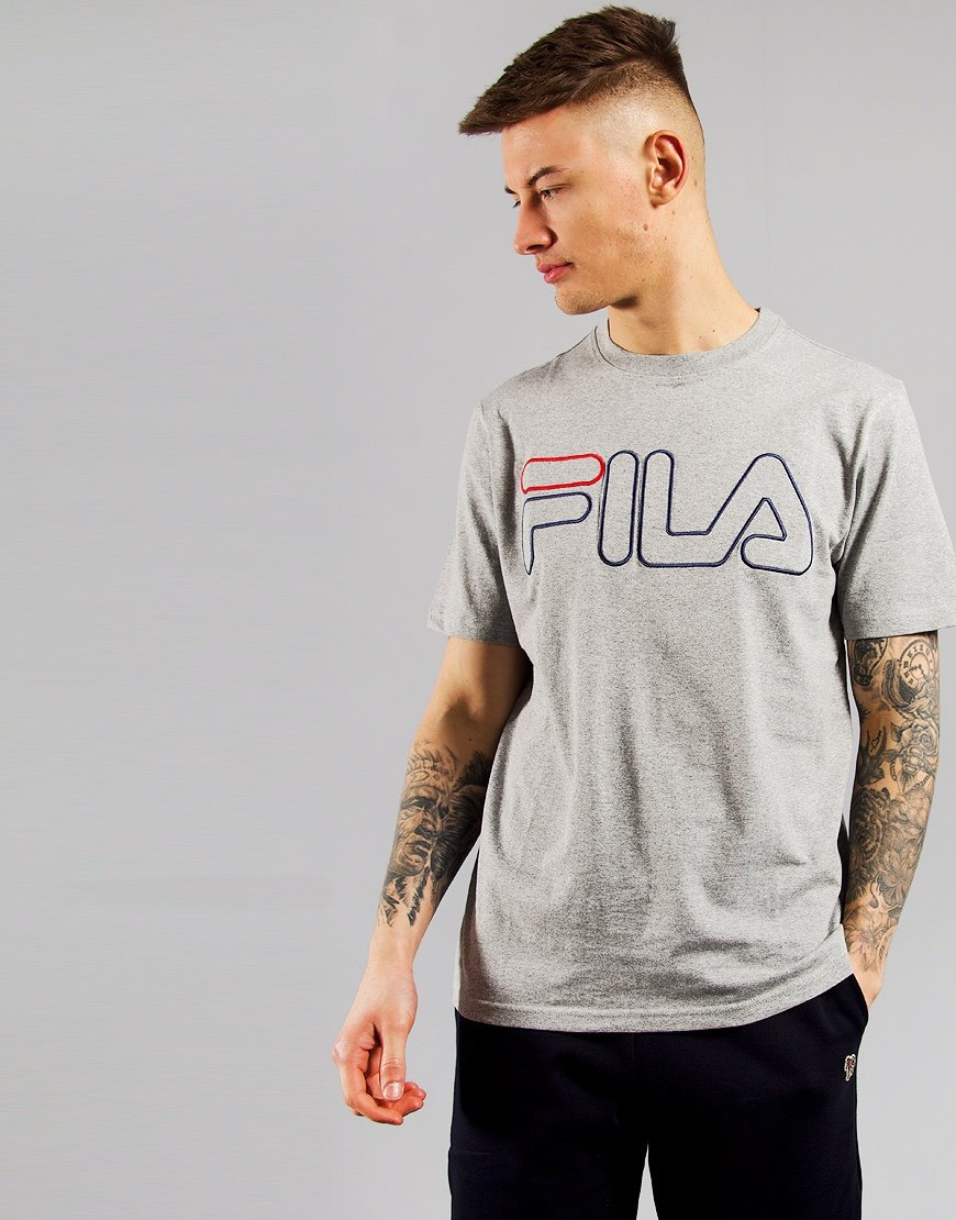 FILA Vintage Borough T-Shirt Varsity Heather