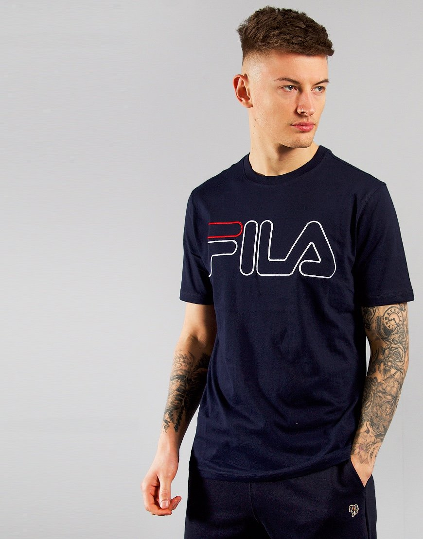FILA Vintage Borough T-Shirt Peacoat