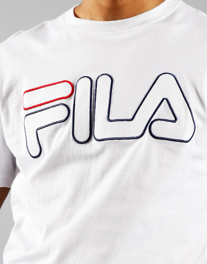 FILA Vintage Borough T-Shirt White