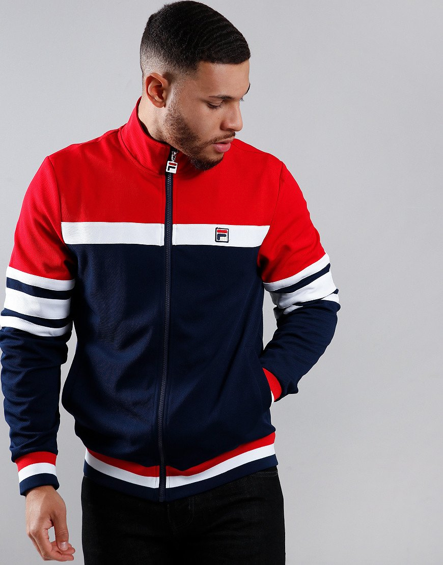 Fila Vintage Courto Track Top Peacoat