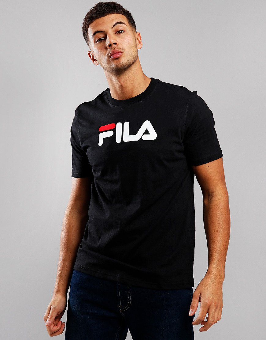 Fila Vintage Eagle Logo T-Shirt Black
