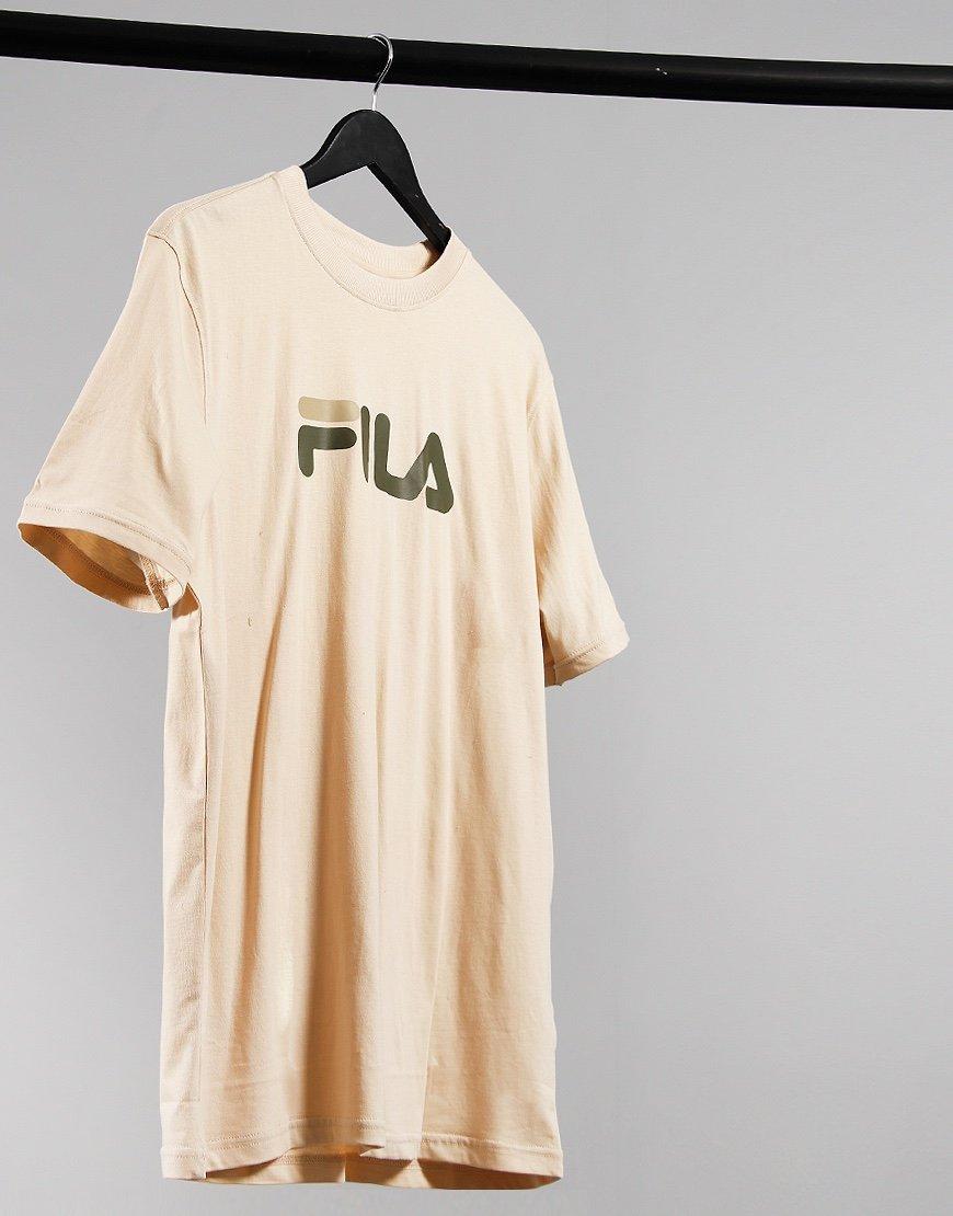 FILA Vintage Eagle T-shirt Cement Grey