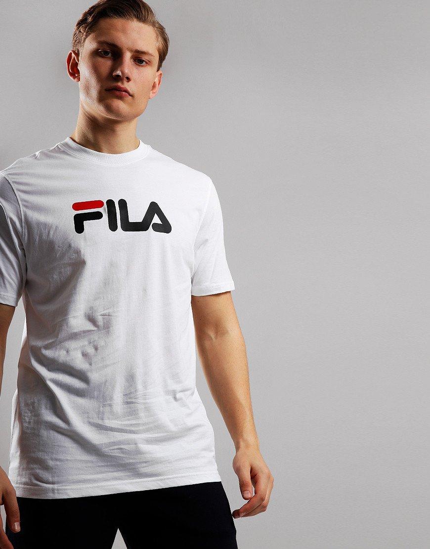 Fila Vintage Eagle Logo T-Shirt White