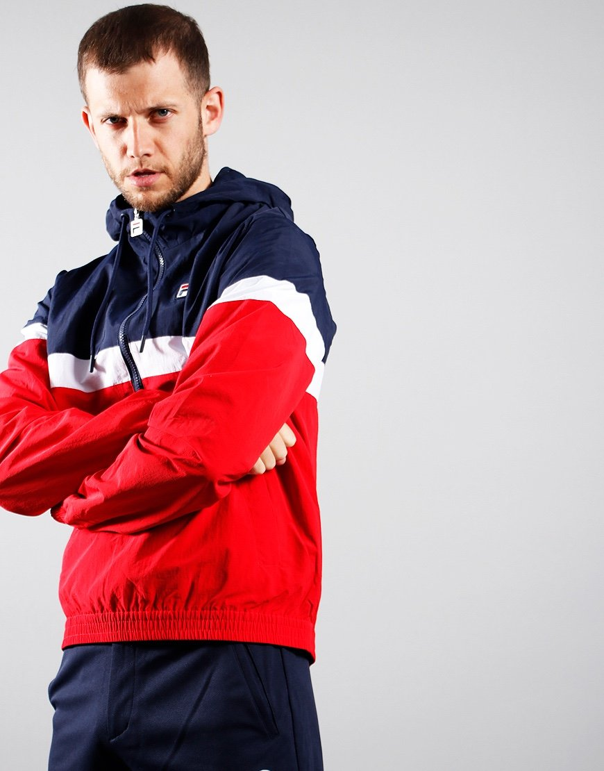 Fila Vintage Jacoby Jacket Chinese Red